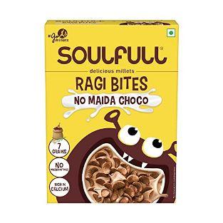 Soulfull Ragi Bites No Maida Choco 375 g