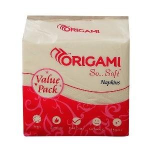 Origami Multi Purpose Napkin 100 Pulls, 1 N
